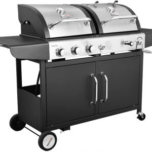 Royal Gourmet Gas & Charcoal Grill Combo
