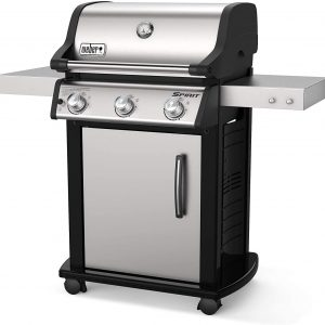 Weber Spirit S-315 Stainless Gas Grill