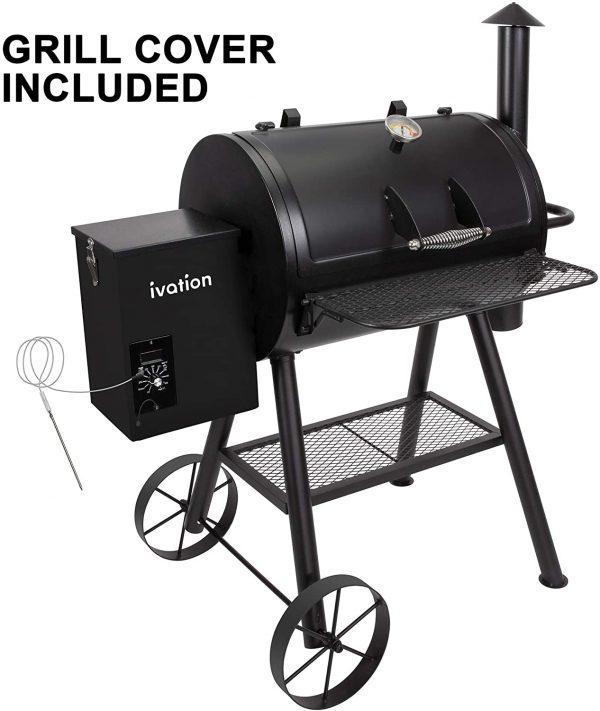 Automatic All-in-1 Wood Pellet Smoker