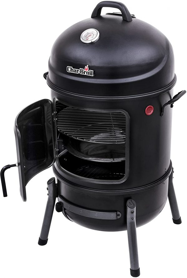 "Char-Broil 20"" Bullet Charcoal Smoker"