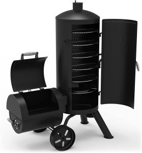 Dyna-Glo Signature 1382 Sq Inch Heavy Gauge Charcoal Smoker