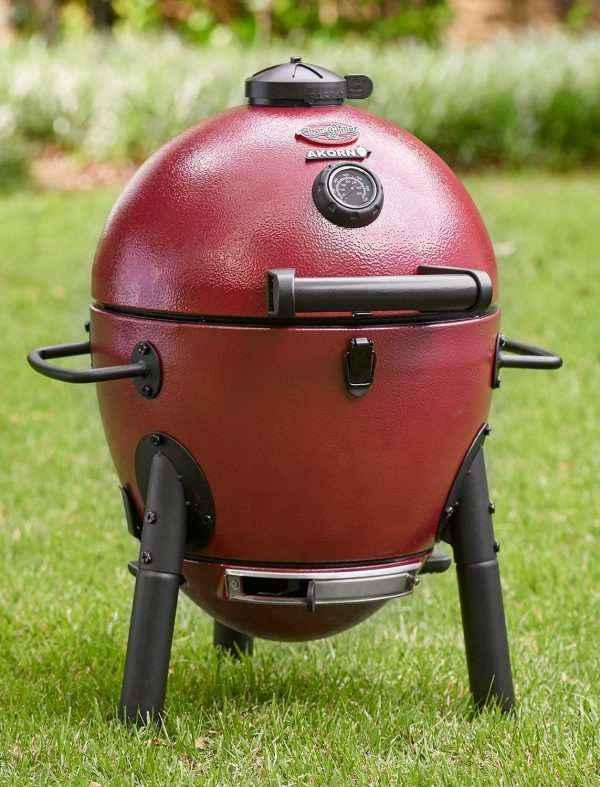 Char-Griller E06614 Red Charcoal Grill